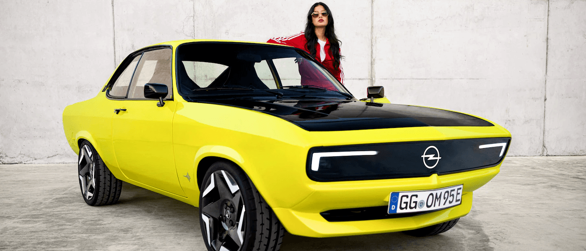 The Opel Manta is Back and it's Electrifying