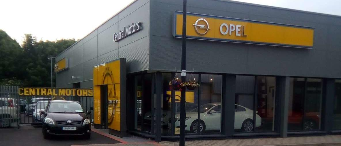 Central Motors Opel dealership