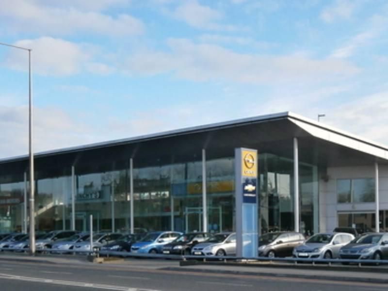 View of Hinchy's Dealership in Limerick