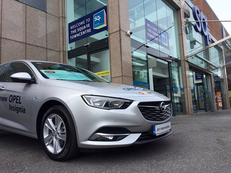 Opel Insignia at Sq