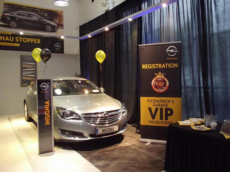 Opel Carlow Vip Sales event