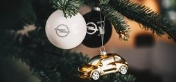 Opel Baubles on Christmas Tree