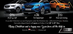 Christmas 191 Offers at Kevin O'Leary Bandon