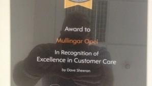 Customer Excellence Award 2013
