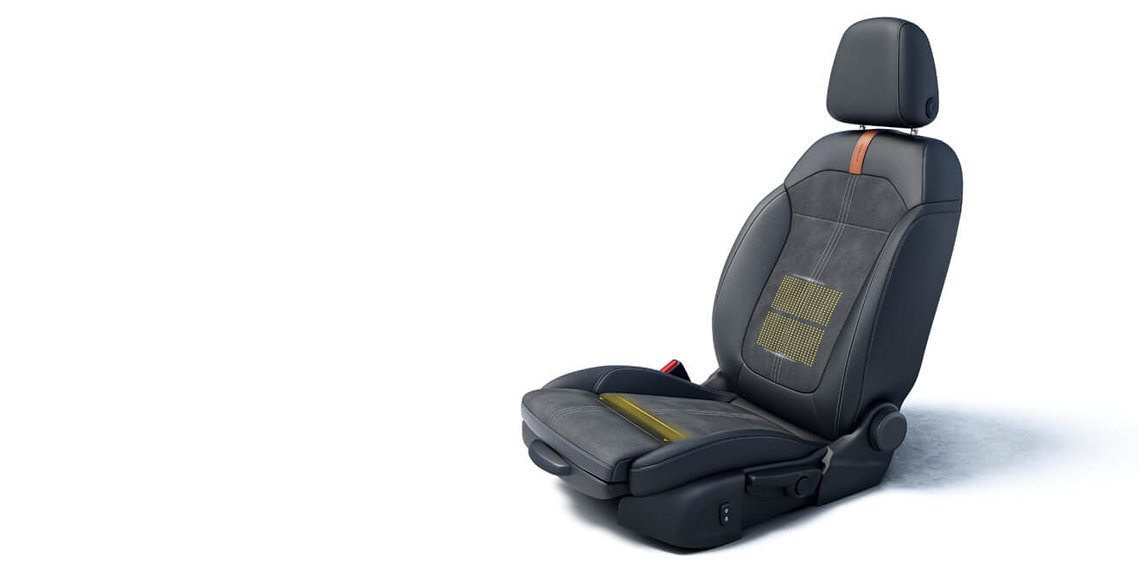 ERGONOMICALLY CERTIFIED AGR SEAT